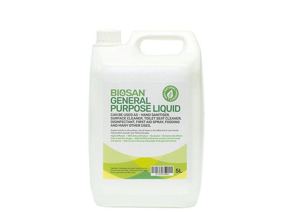5 Litre All Purpose Disinfectant, Sanitiser and Fogging Liquid