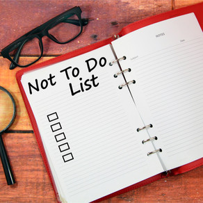 Not-To-Do-List