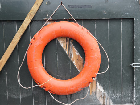 Hold tight to your lifeboat