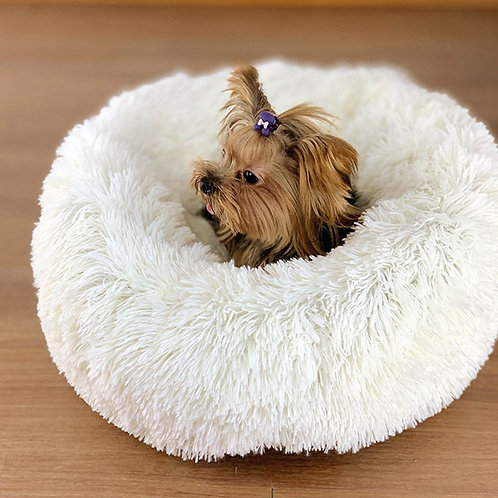 LUXURY FLUFFY BED FOR YOUR FURRY FAMILY MEMBER-COZY BED FOR SMALL DOGS AND CATS