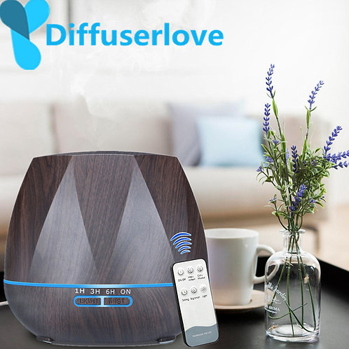 DiffuserLove Remote Control Air Humidfier Essential Oil Diffuser for Well Being