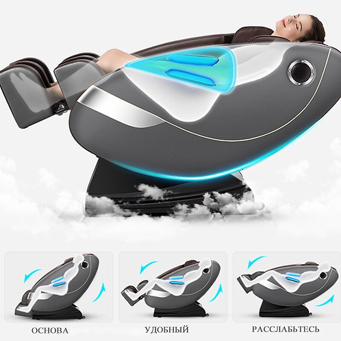 Full Body Electric Shiatsu Massage Chair Recliner with Built-in Heat Therapy