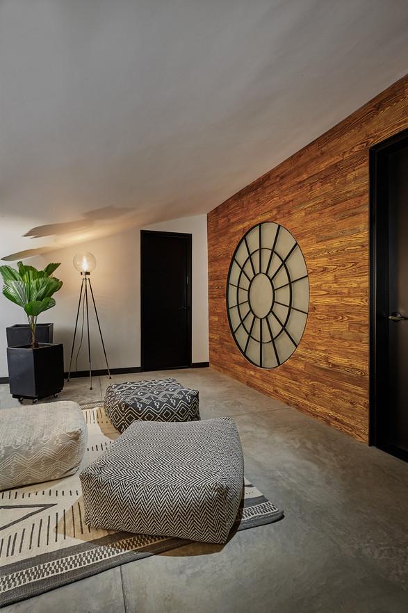 Fotografia de interiorismo en el penthouse de atico4, sala de descanso