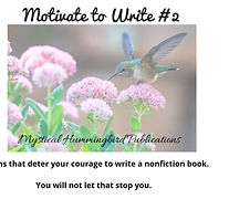 Motivation to Write #1