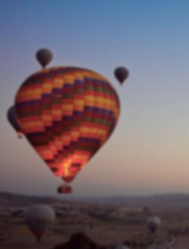 Globos en Capadocia