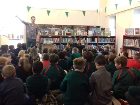 Visit to Watch House Cross Library