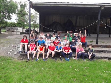 4th Class go farming!