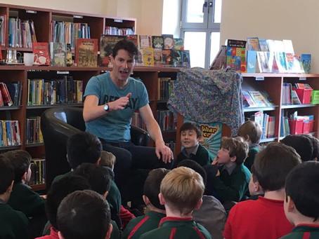 Storytelling with Niall de Burca.
