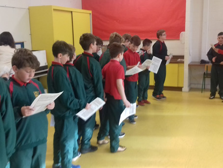 4th Class Drama Workshop