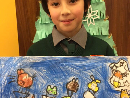 Credit Union Art Competition Winner!