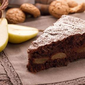 Mini Peren & Chocoladetaart .. € 6