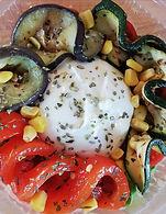 Burrata & gegrilde groenten