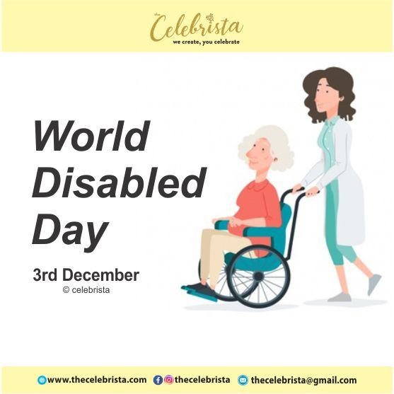 INTERNATIONAL DAY OF DISABLED PERSONS 2018