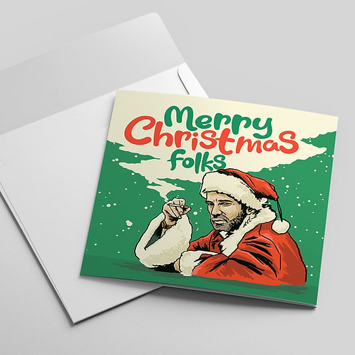 Billy Bob Thornton Christmas Card