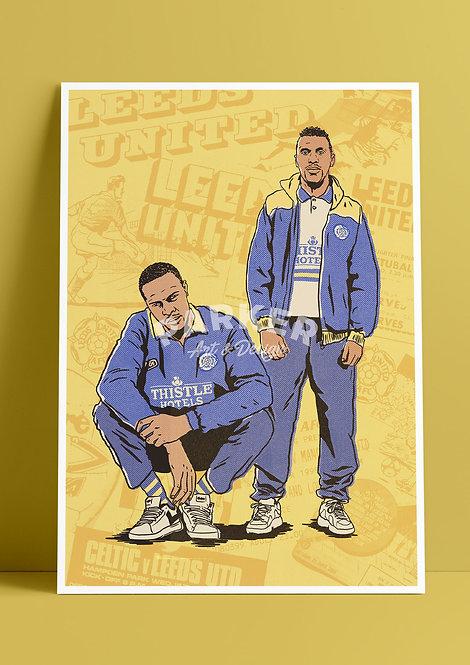 Masinga x Radebe 90s Leeds Print