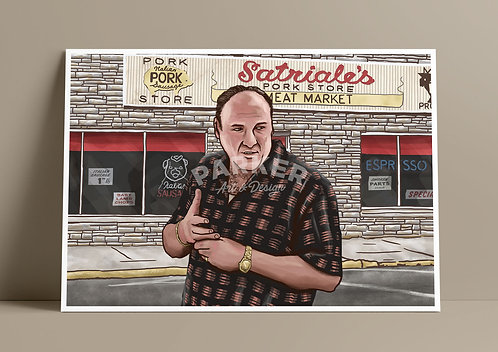 Tony Soprano Print