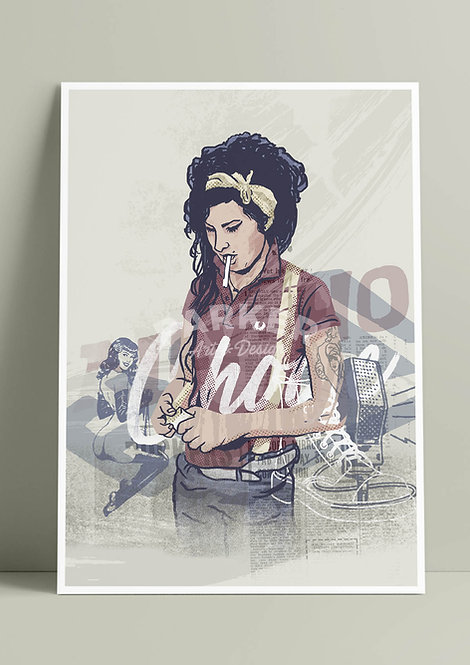 Amy Winehouse (Print