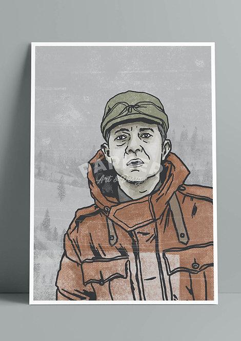 Fargo Lester Nygaard Print
