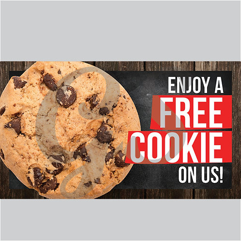 1000 Free Cookie cards - NO STRINGS ATTACHED