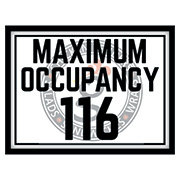 Maximum Occupancy Print