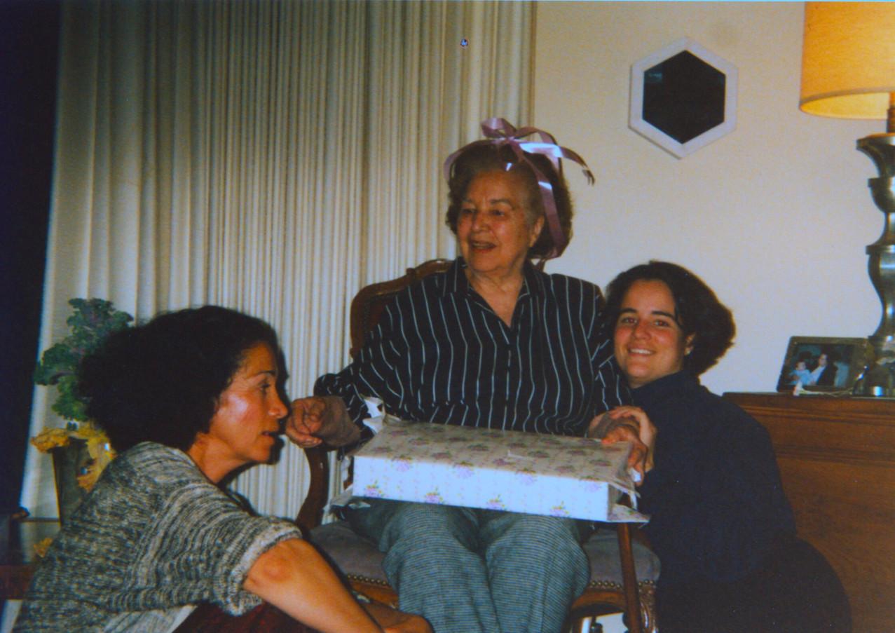 Sylvia, Veneranda and Andrea