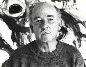 Jerry in front of McCarthy drawing.jpg