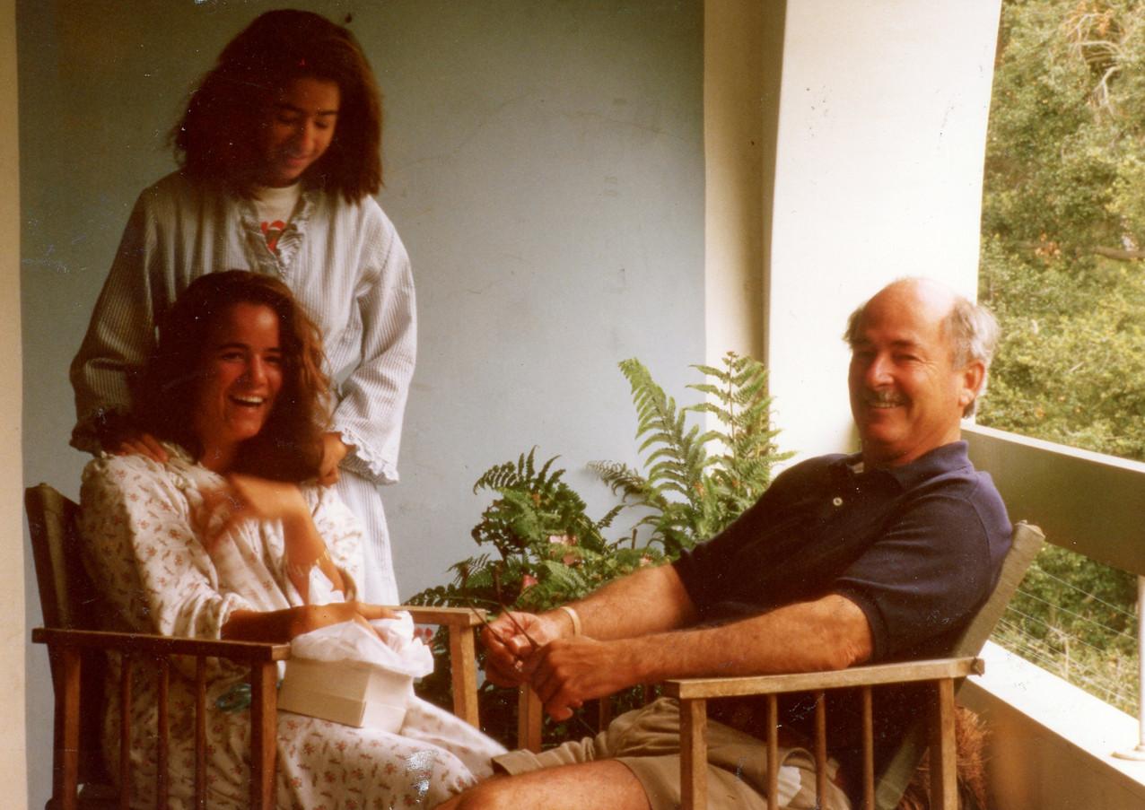 Andrea, Fernanda and Jerry