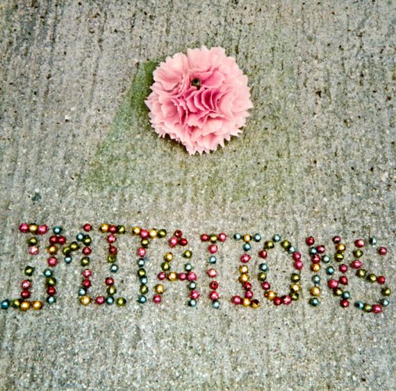 Imitations Pink Plastic Flowers