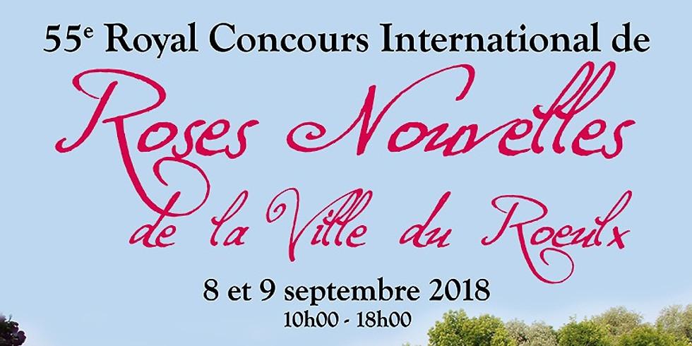 55e Royal Concours International de Roses Nouvelles du Roeulx