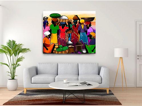 Marché Haïtien