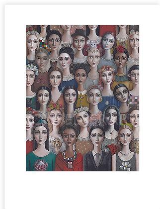 Women's Day Print