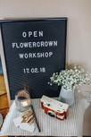 Ein Mädelstag beim Flowercrown Workshop - Ein Bericht von Finja (Förde Fräulein)