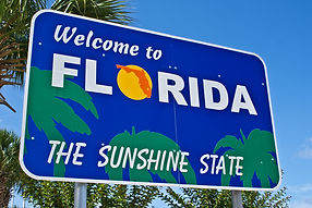 Welcome To Florida Sign Photo
