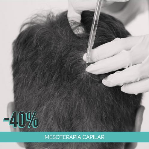 Mesoterapia Capilar - 8 Sesiones
