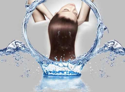 Lack Of Water Has A Direct Impact On Hair Growth.