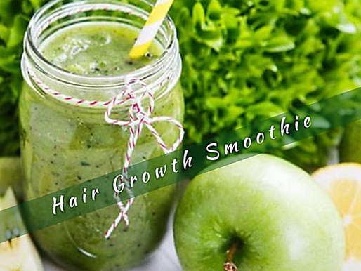 Hair Growth Smoothie.