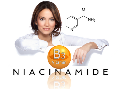 Niacinamide -Vitamin B3.                       Why you MUST have it.