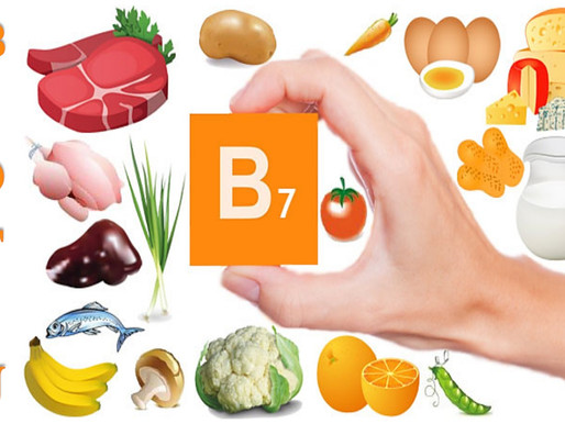 Biotin-Vitamin B7 Importance & Food Sources.
