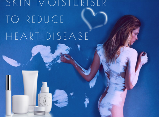 Skin Moisturiser To Reduce Risk Of Heart Disease.
