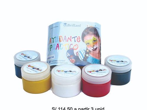 Kit Aqua Color Make Up Profesional Mate 5 colores