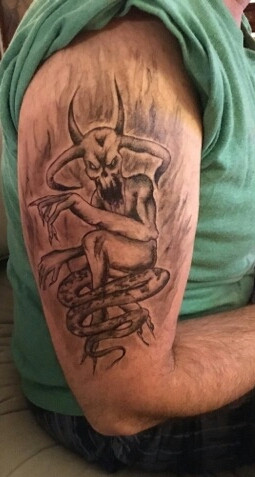 Hand Drawn/Stencil