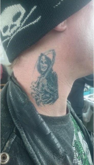 Tattoo Transfer Supplied By: Vincent Schicchi