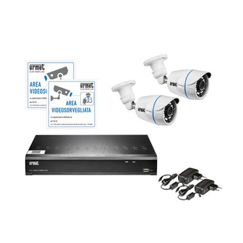 4 CH AHD CCTV Kit