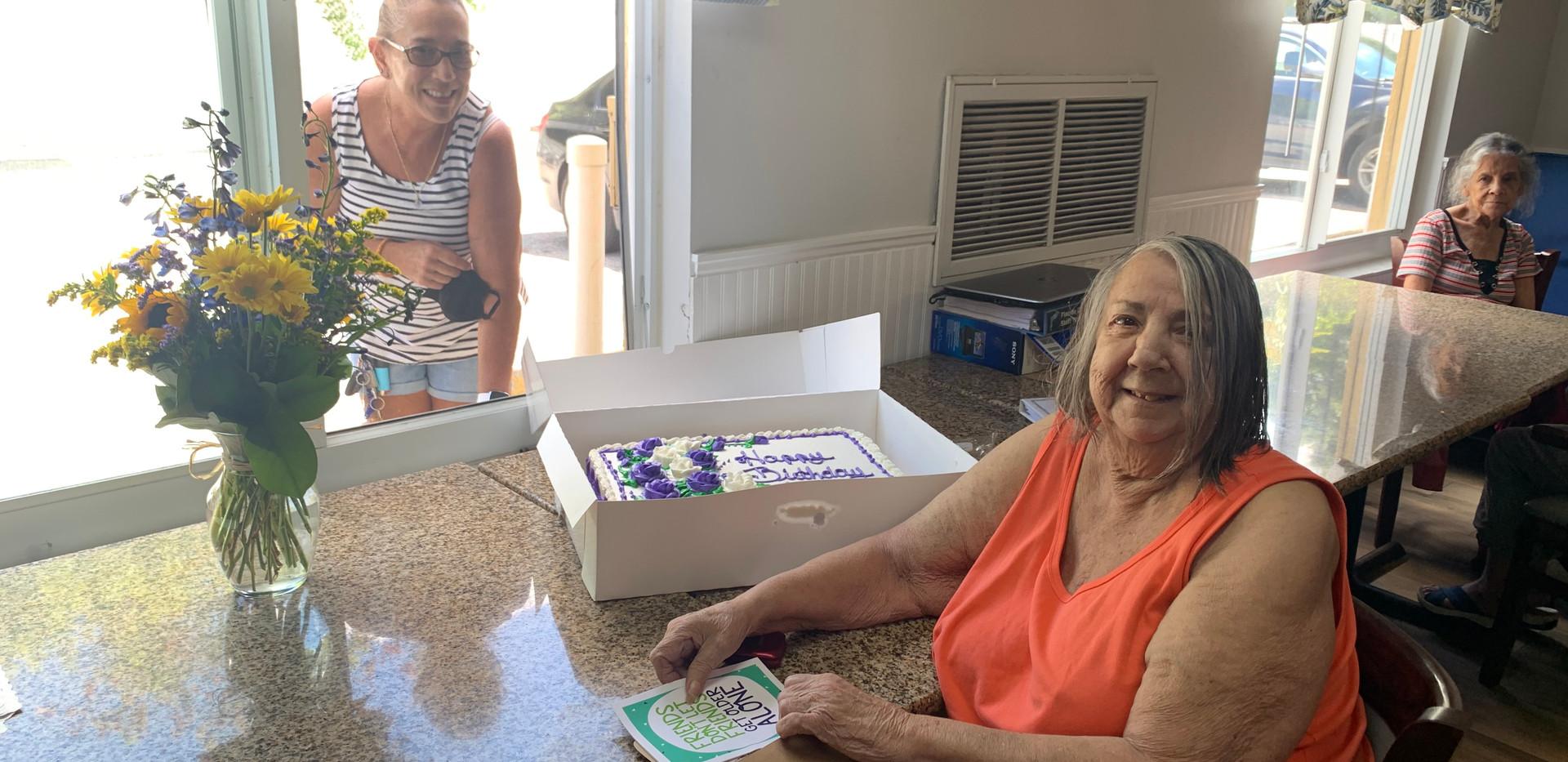 Socially Distanced Birthday Celebration!