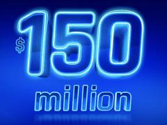 $150 million POWERBALL LOTTO