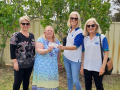 Bogan Bingo donation to Pat Thomas House