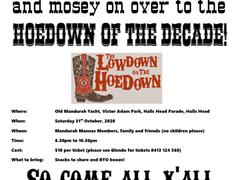 'Hoedown' social gathering!