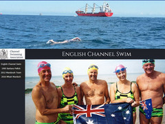 New English Channel Swim Web Page