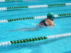 How to find the sweet spot in swimming efficiency