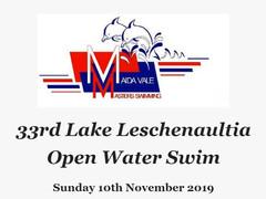 2019 Lake Leschenaultia Swim